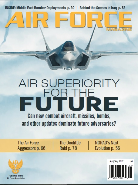 Air Force Magazine №4 2017