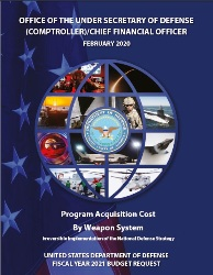 FY 2021 Program Acquisition Costs by Weapon System