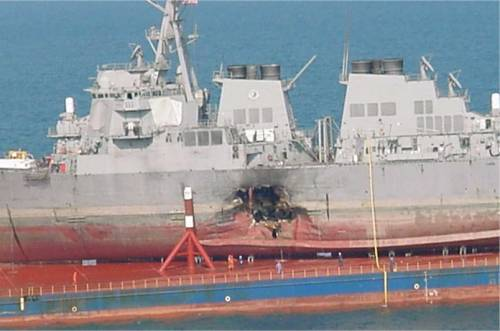 a research on the bombing attack on the uss cole Is the bombing of uss cole a staged event to incite of the theory that the uss cole was deliberatly set up for an attack for political purposes much.