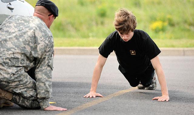 Жесткая Военная Подготовка