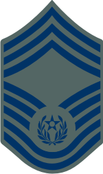 AF E-9 CMSAF 2004 Chief Master Sergeant of the Air Force (ABU) Decal