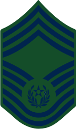 AF E-9 CMSAF 2004 Chief Master Sergeant of the Air Force (BDU) Decal