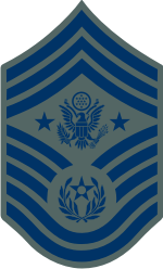 AF E-9 CMSAF Chief Master Sergeant of the Air Force (ABU) Decal