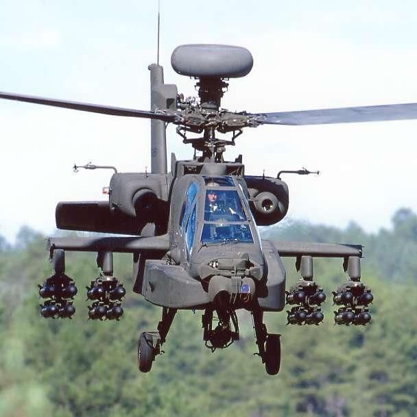 Американский ударный вертолет ah 64d